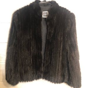 Mink Coat - Black
